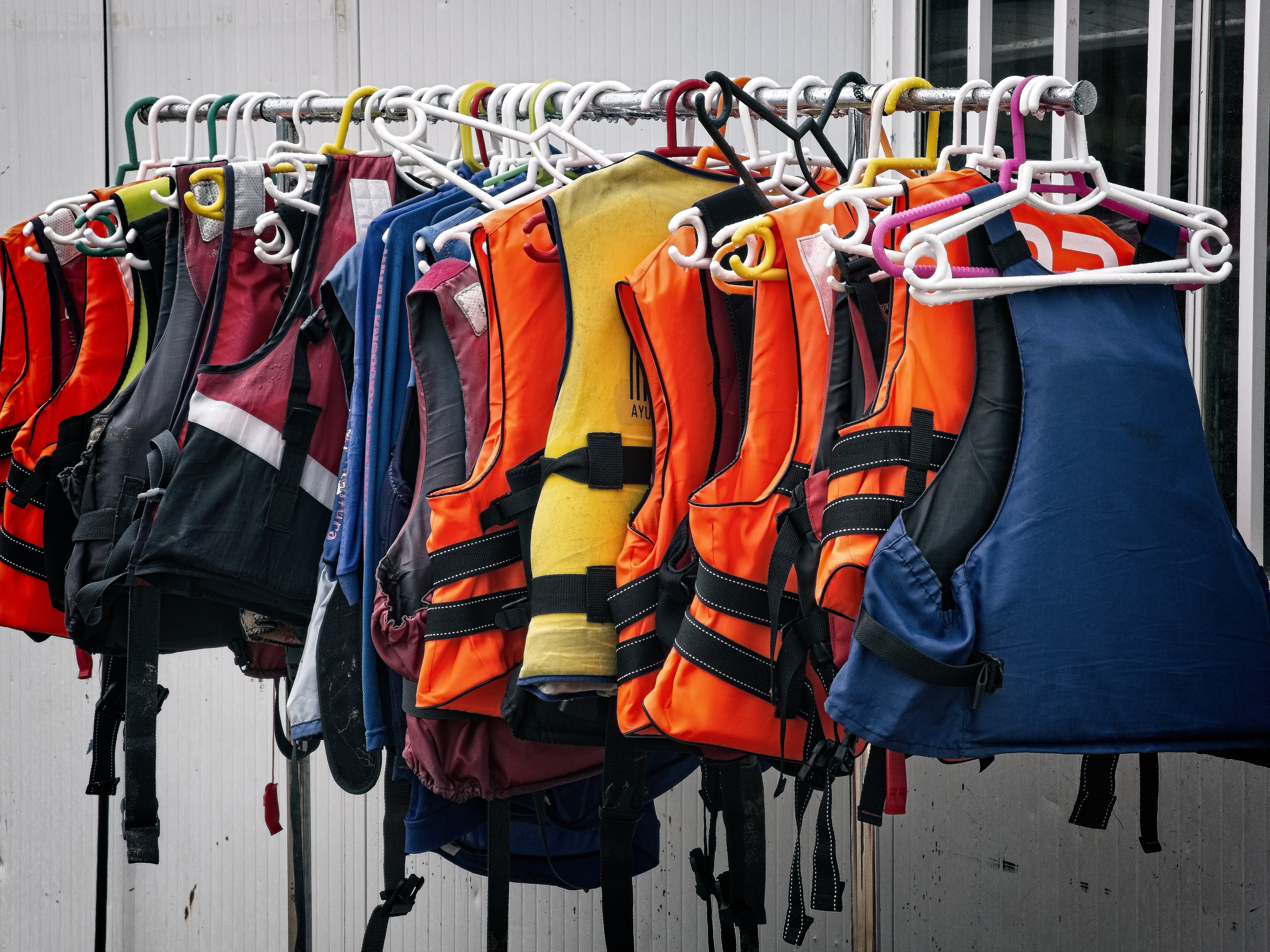 Life vests are important for safety!