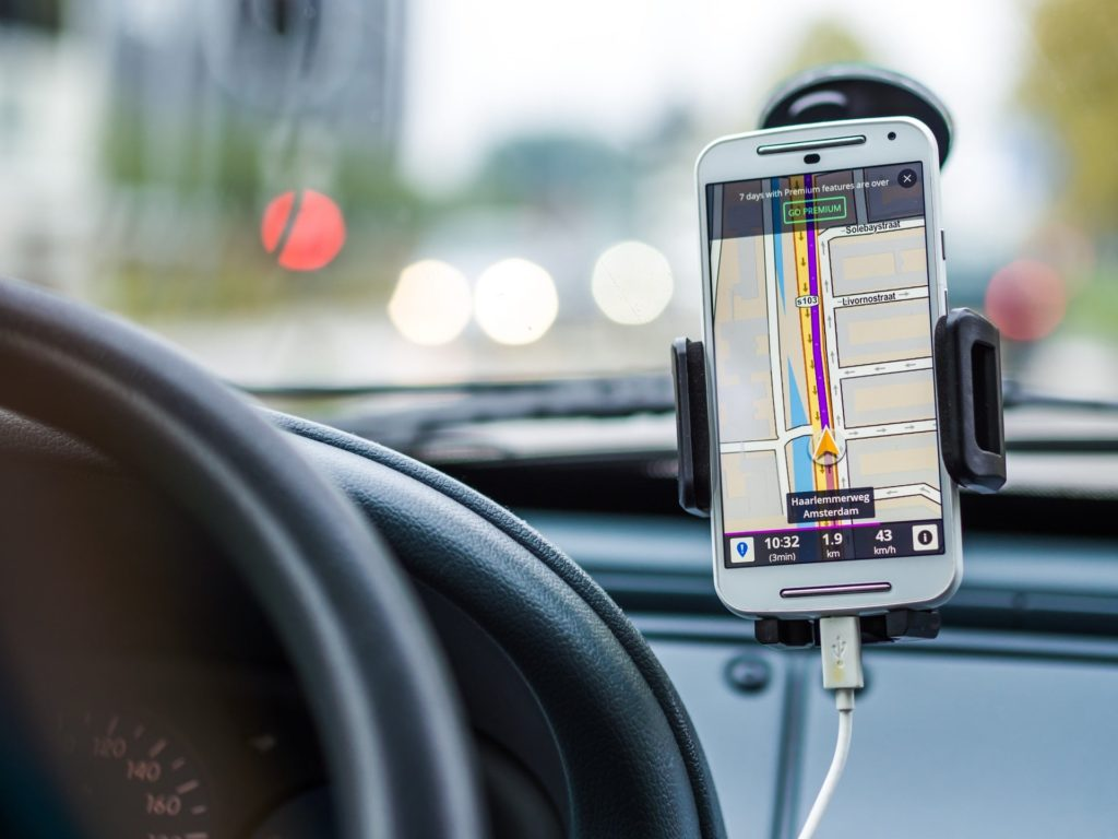 GPS on smartphone