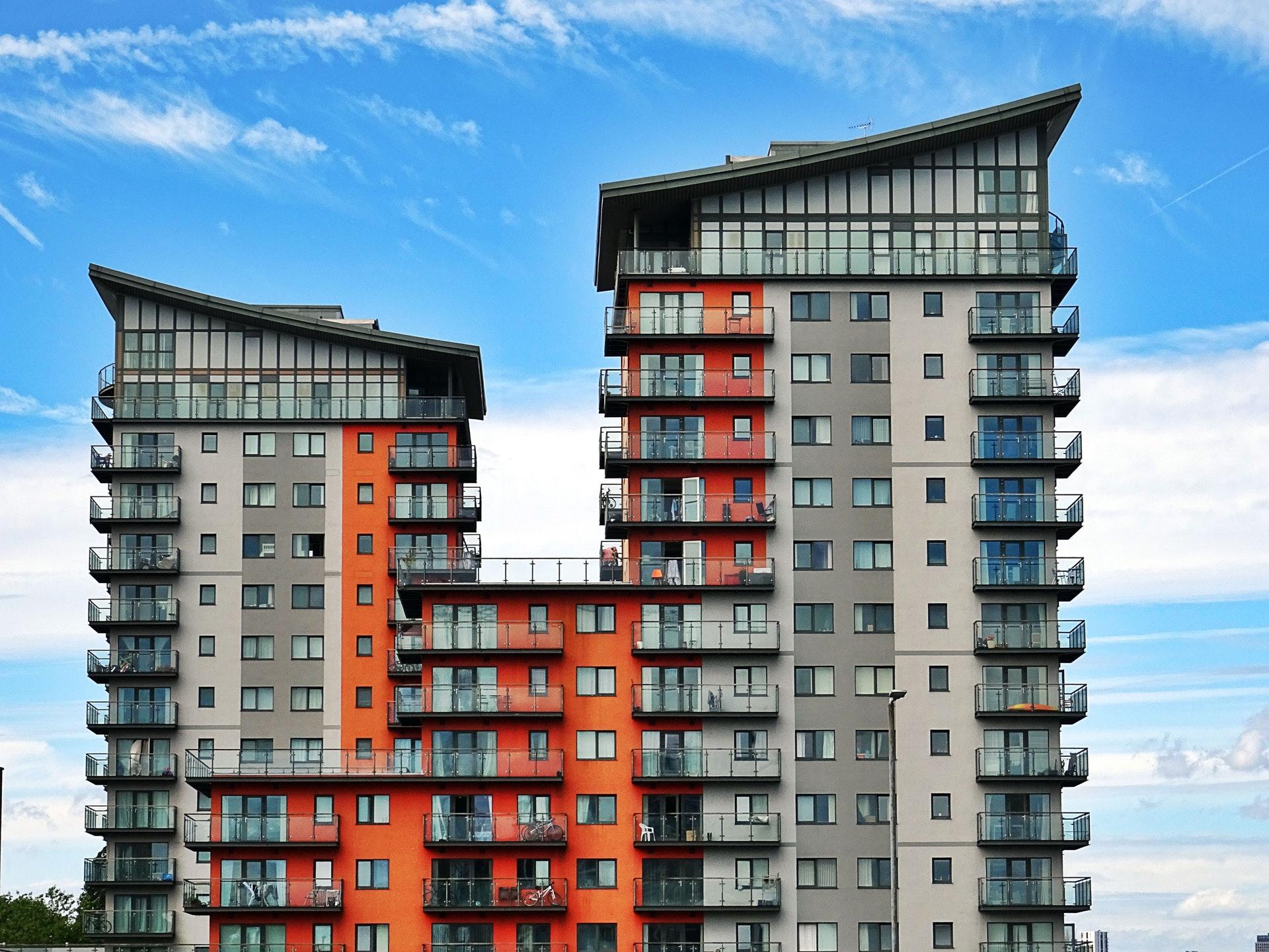 Multi-storey apartment building